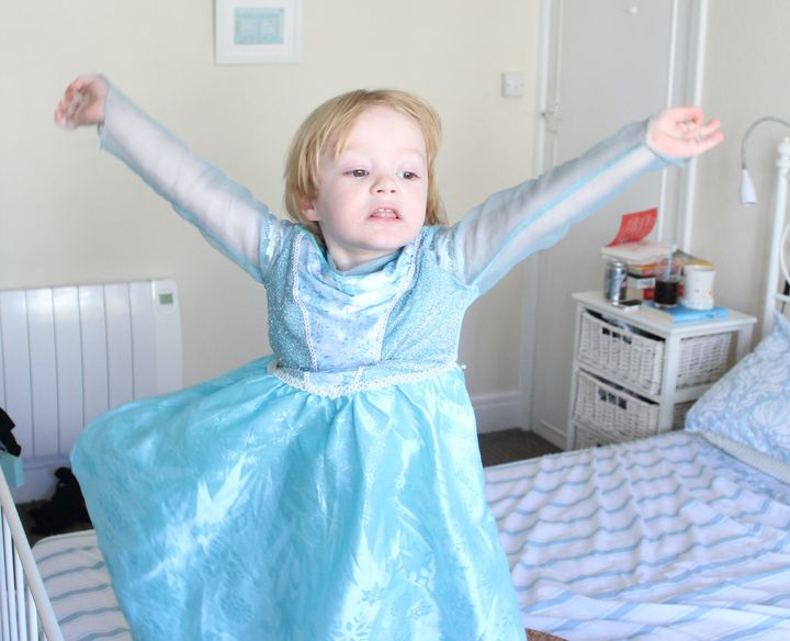 """""""If a child wants to wear a dress and emulate his favorite character, there is nothing at all wrong with that,"""" McLean-Glass said."""
