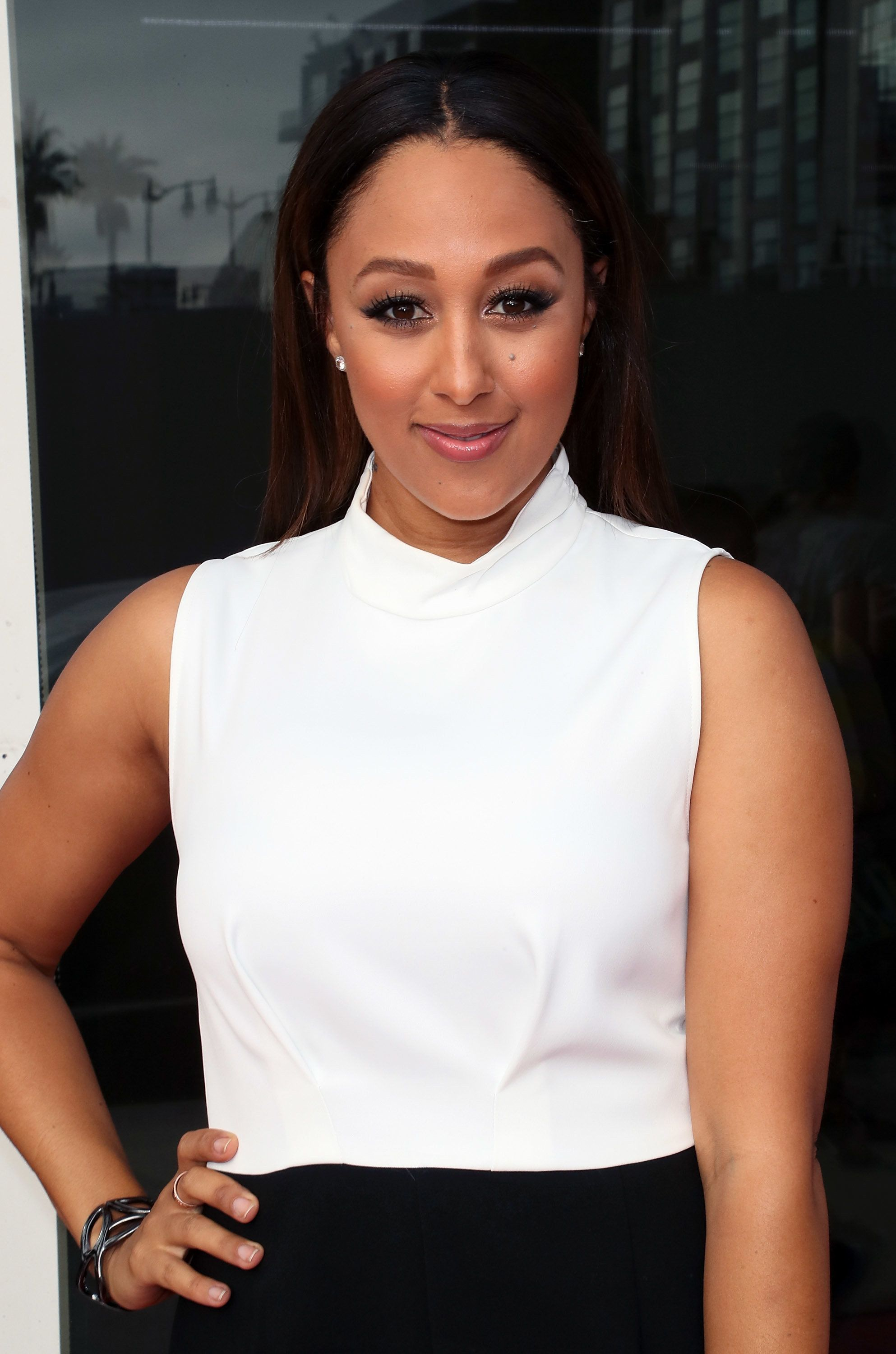 """""""The Real"""" co-host Tamera Mowry-Housley is no stranger to her toddler having a meltdown on a plane."""