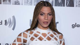 NEW YORK, NY - NOVEMBER 16:  Munroe Bergdorf attends Tinder x GLAAD Celebrate Inclusion Acceptance Equality at Skylight Clarkson Sq on November 16, 2016 in New York City.  (Photo by Santiago Felipe/Getty Images)