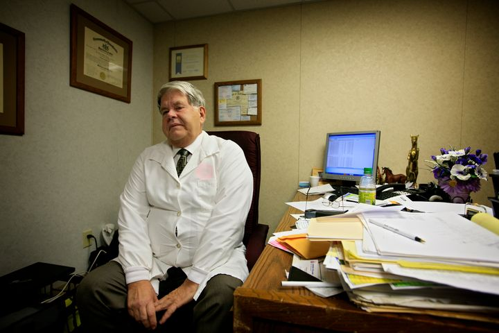 Dr. LeRoy Carhart is one of few doctors in the country who perform abortions later in pregnancy.