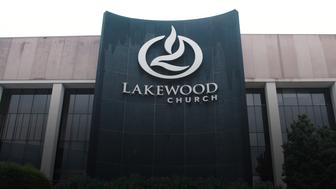 Volunteers flocked to Lakewood Church once it opened its doors to Harvey victims