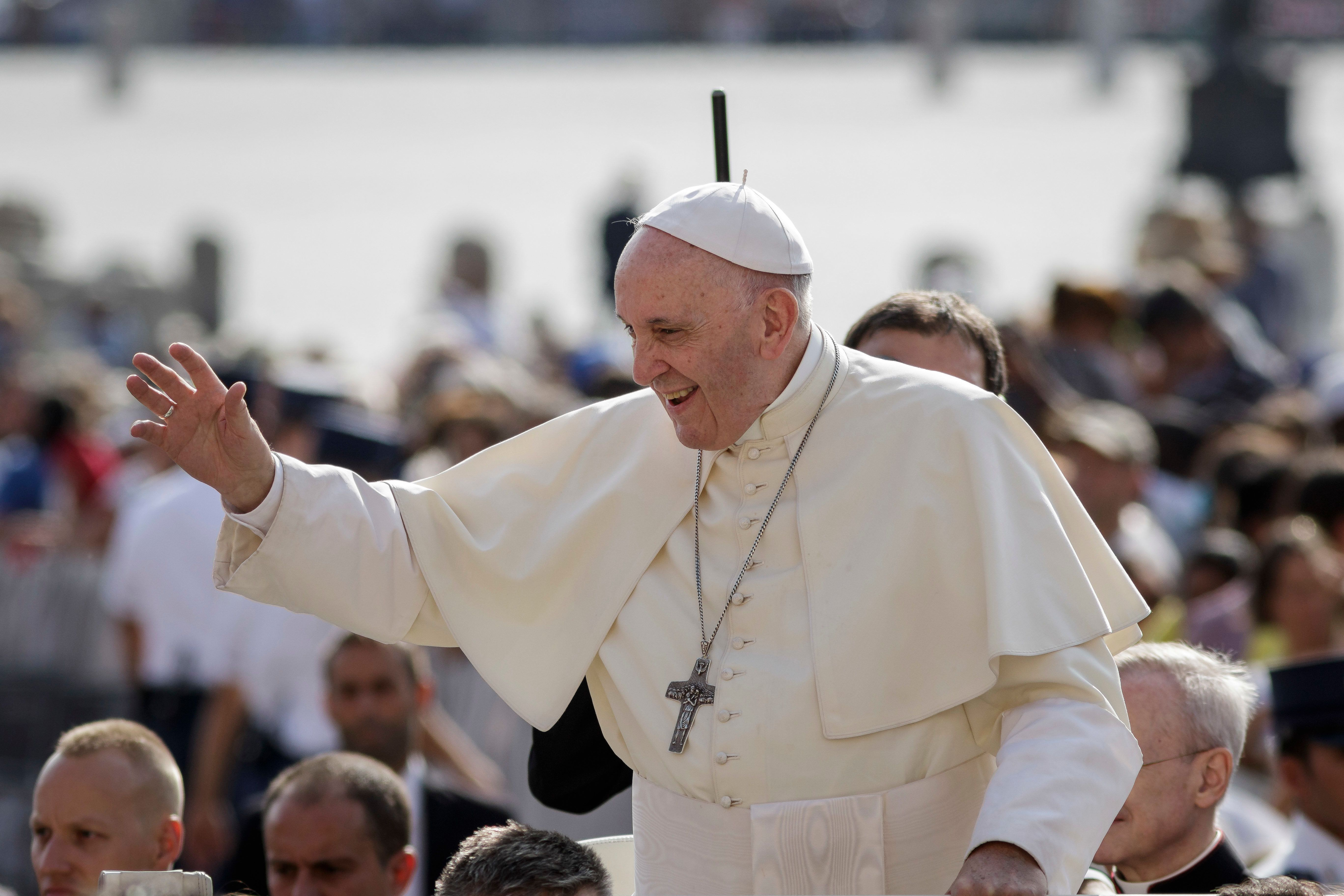 Pope Francis said he received six months of psychoanalysis during a difficult period of his life.