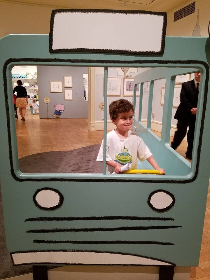 My son Gabriel driving the bus. To Gabriel, may you always drive your own bus.