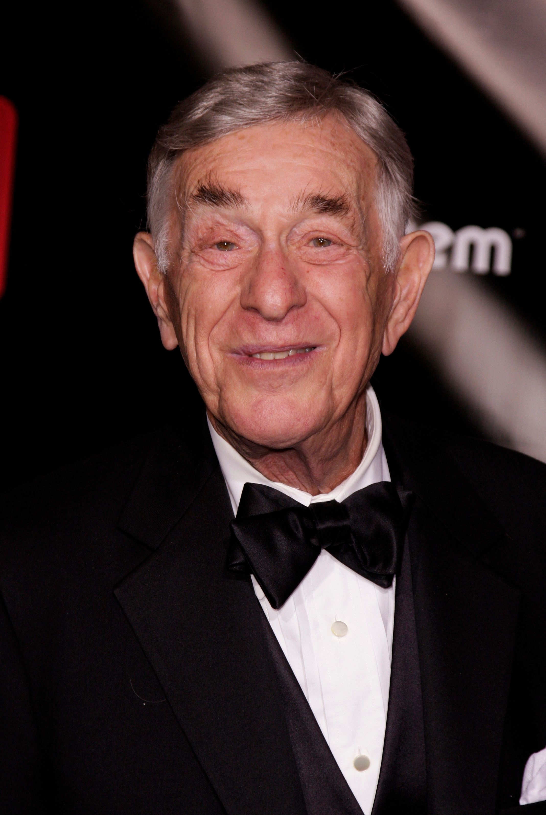 Actor Shelley Berman arrives at the 6th Annual TV Guide Emmy�� Awards After-Party held at The Kress to celebrate the 60th Primetime Emmy�� Awards. (Photo by Paul Mounce/Corbis via Getty Images)