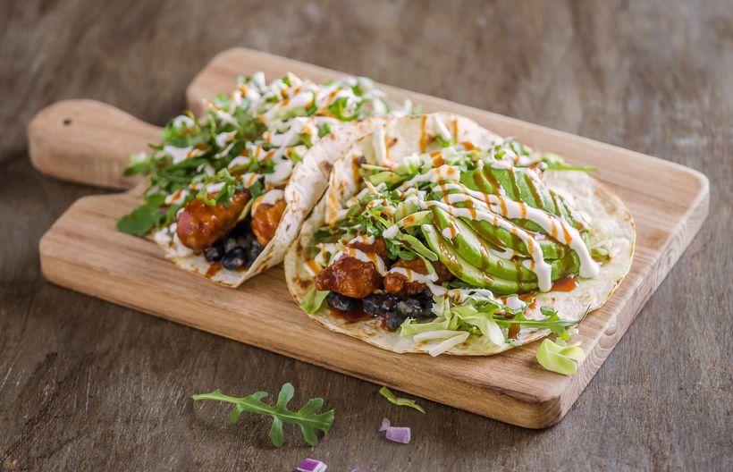 Veggie Grill Koreatown Tacos