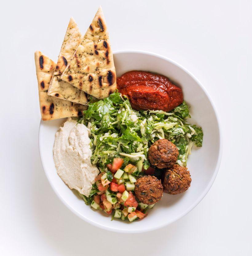 Veggie Grill Mediterranean Supergreens Salad