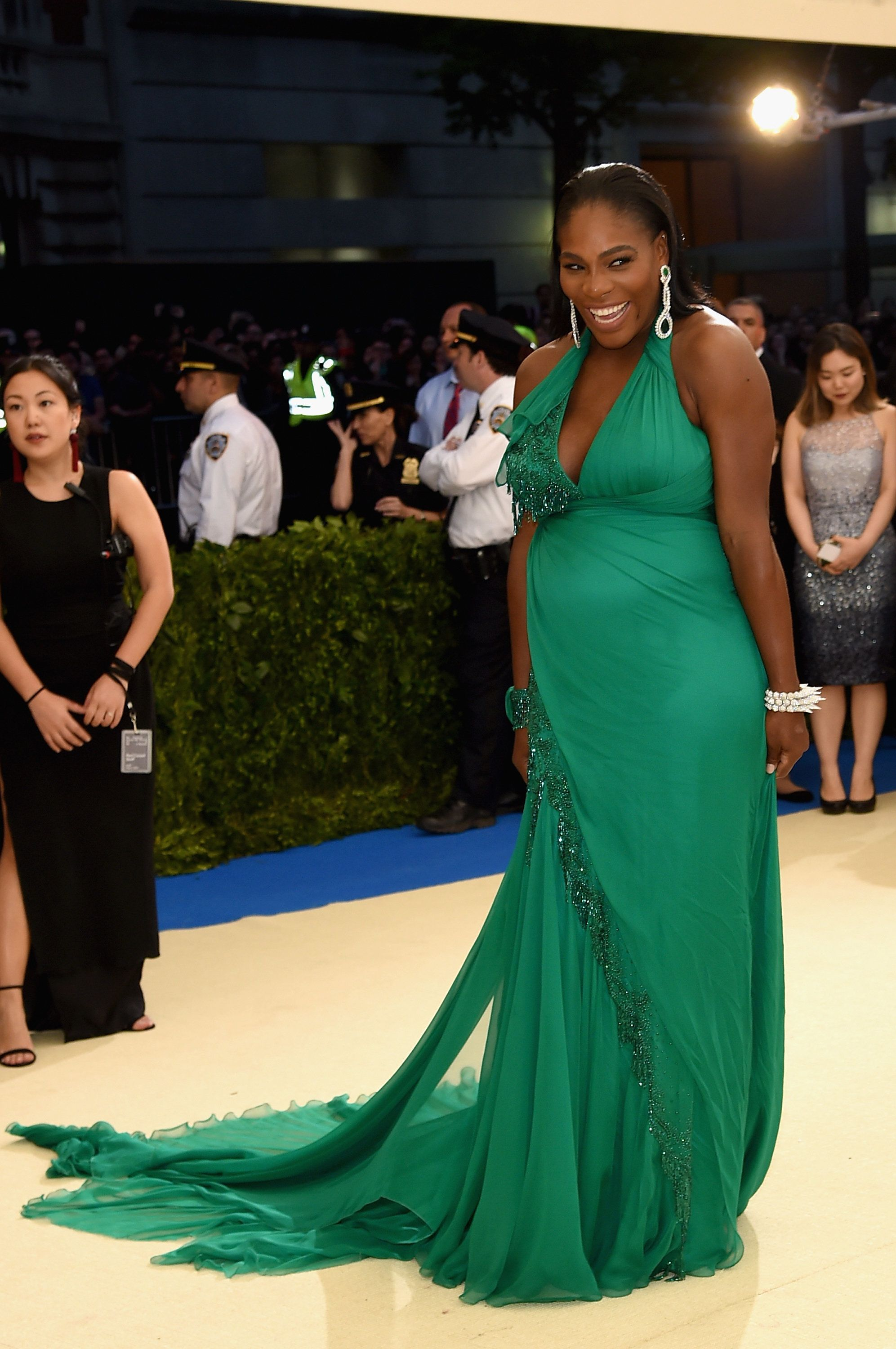 NEW YORK, NY - MAY 01:  Serena Williams attends the 'Rei Kawakubo/Comme des Garcons: Art Of The In-Between' Costume Institute Gala at Metropolitan Museum of Art on May 1, 2017 in New York City.  (Photo by Jamie McCarthy/FilmMagic)
