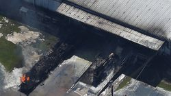 Another Fire Rages At Texas Chemical