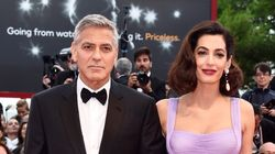 George And Amal Clooney Stun In First Post-Baby Red Carpet
