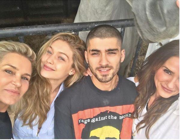 Gigi Hadid And Zayn Malik Adorably Spent Eid Al-Adha With Their