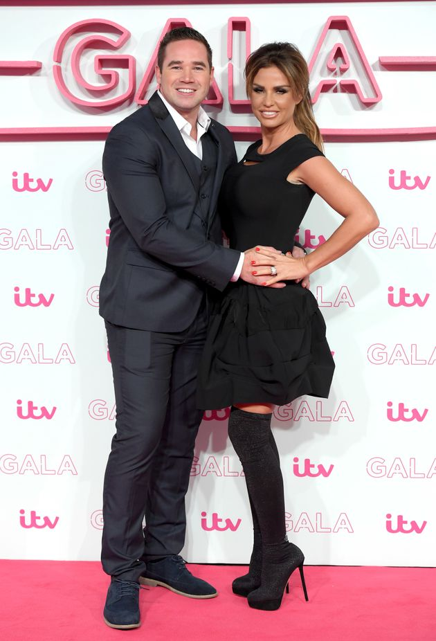 Kieran and Katie at the ITV Gala last
