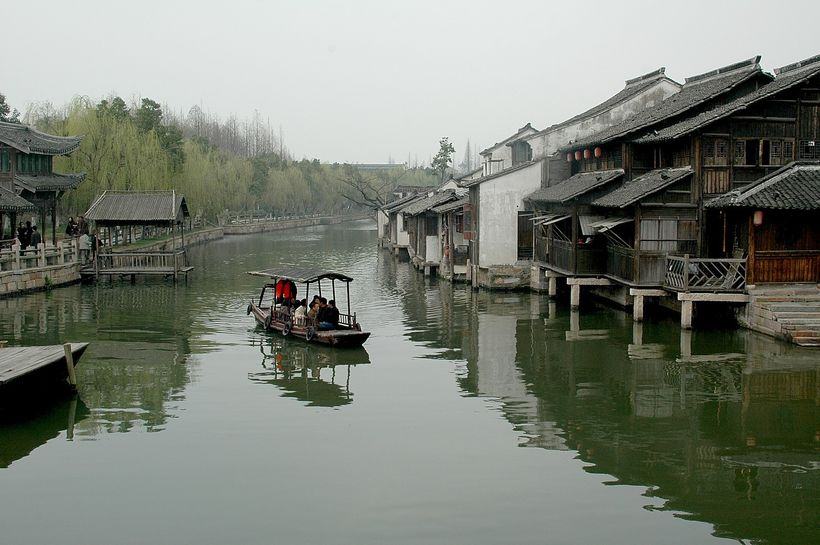 <em>The Grand Canal, China's greatest engineering wonder second only to the Great Wall and a UNESCO World Heritage site.</em
