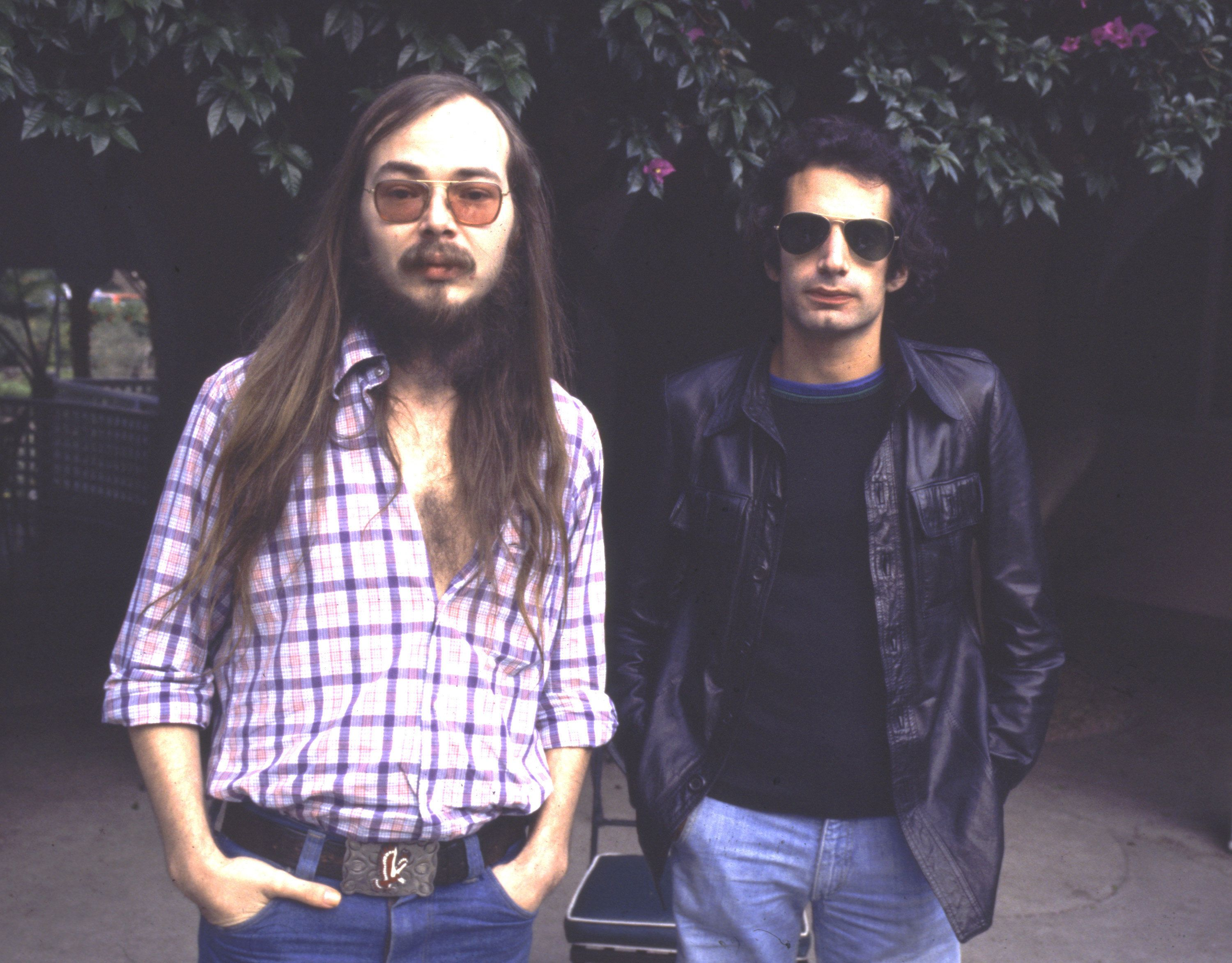 Walter Becker and Donald Fagen of Steely Dan in