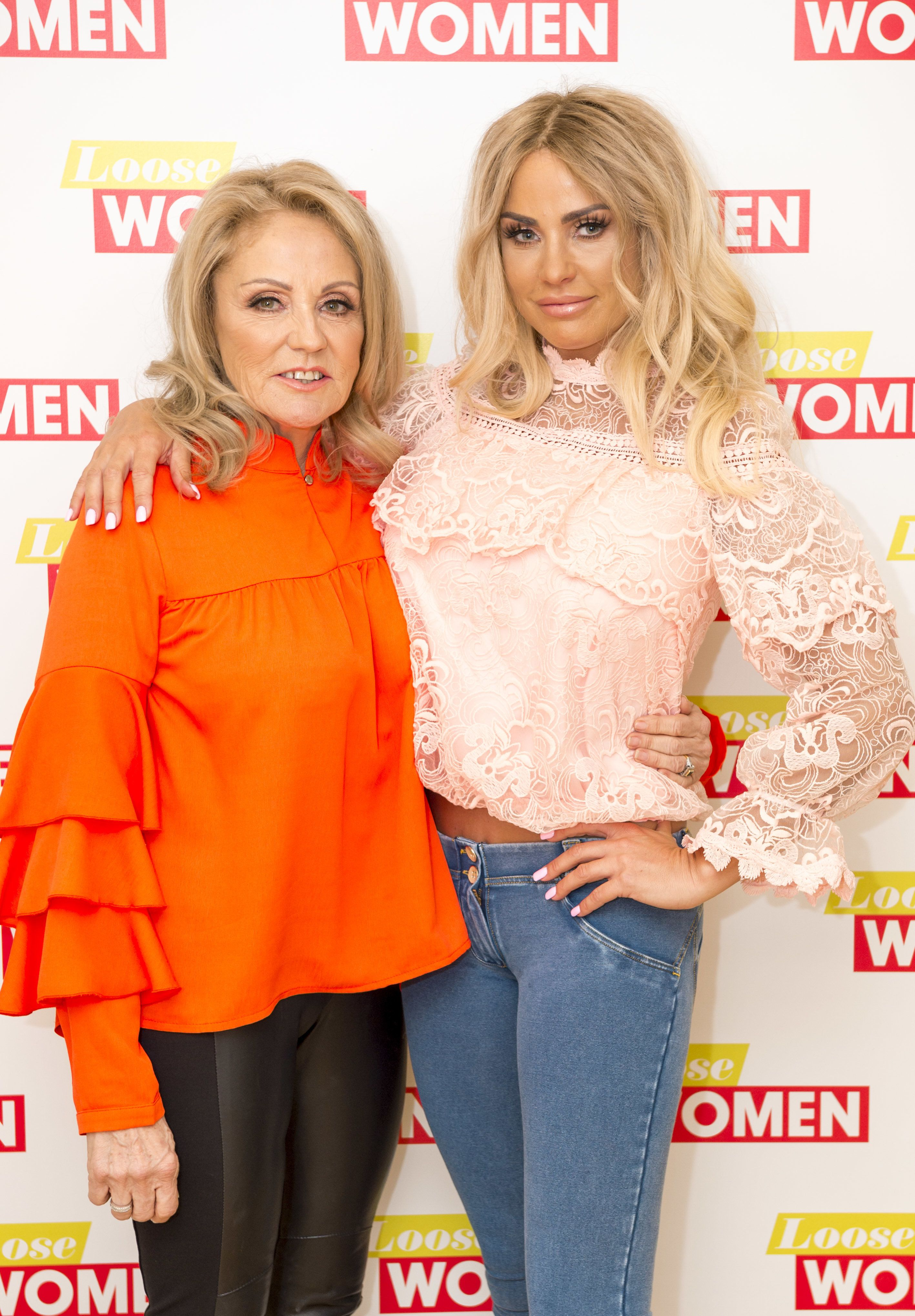 Katie Price Thanks Supporters After Her Mum Is Diagnosed With Incurable Lung Condition