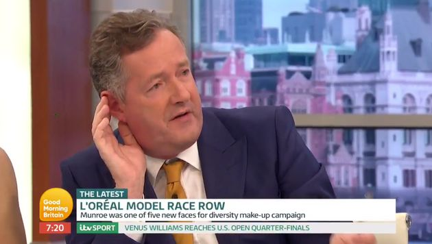 Piers Morgan thinks the idea of male privilege is 'a load of nonsense', because of course he