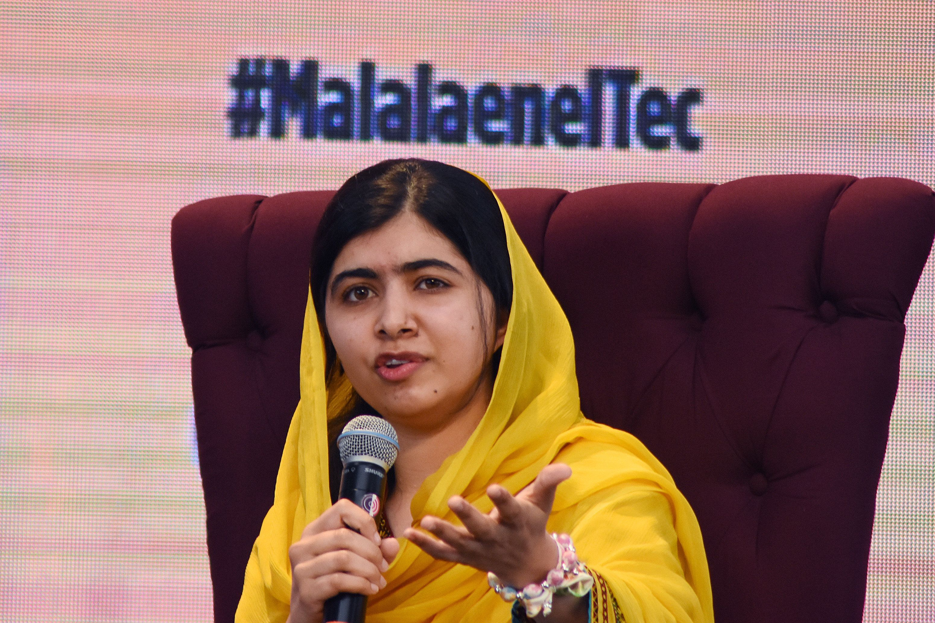 Activist Malala Yousafzai was awarded the Nobel Peace Prize at the age of 17 after surviving an assassination attempt by