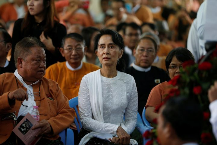 Myanmar State Counselor Aung San Suu Kyi, the country's de facto leader, has been criticized for remaining silent about the v