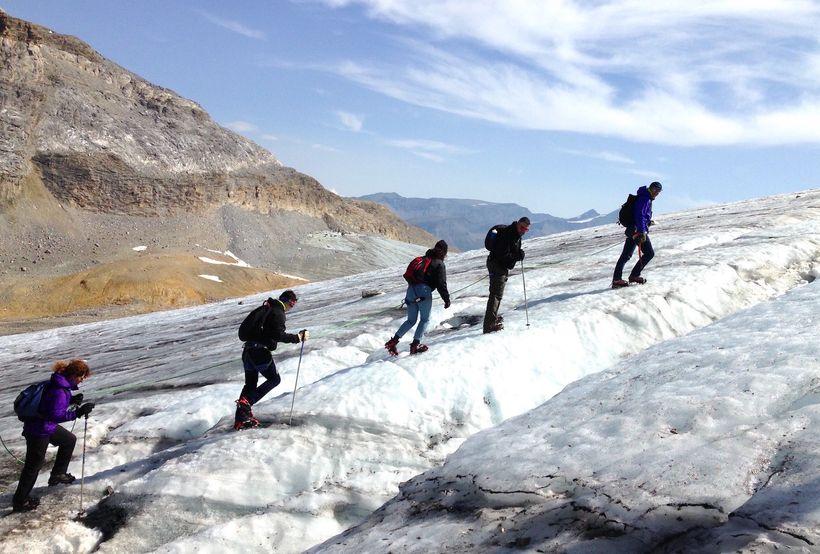 Grande Motte glacier
