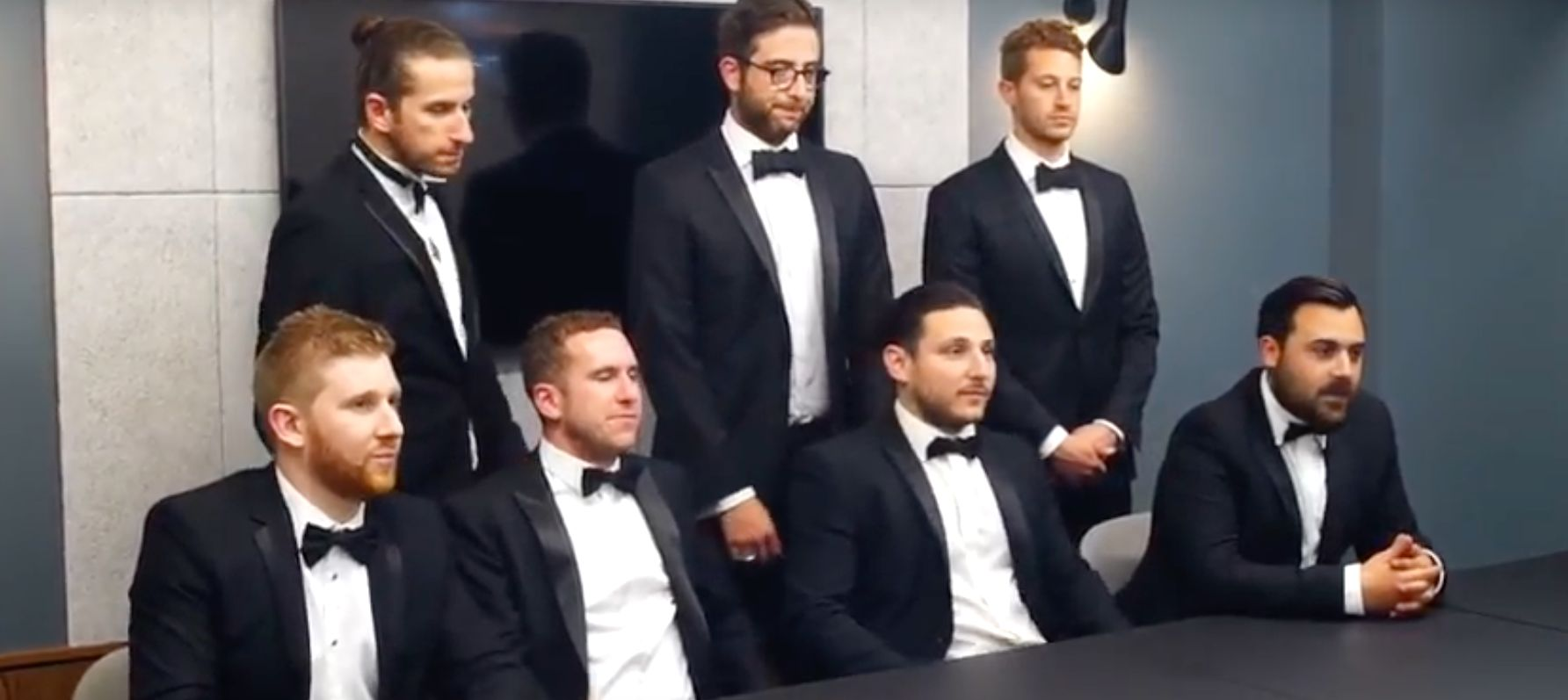 Lads Deliver Epic Best Man Speech By Creating 'The Apprentice'