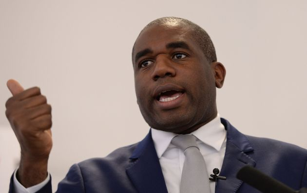 Labour MP David Lammy is a previous