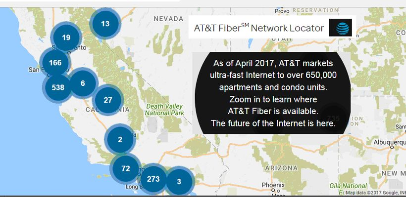 The Copper-Wire World of AT&T: The Reason to Investigate AT&T, Now on broadband map usa, internet map usa, isp map usa, rboc map usa, satellite map usa, lec map usa, cable map usa,