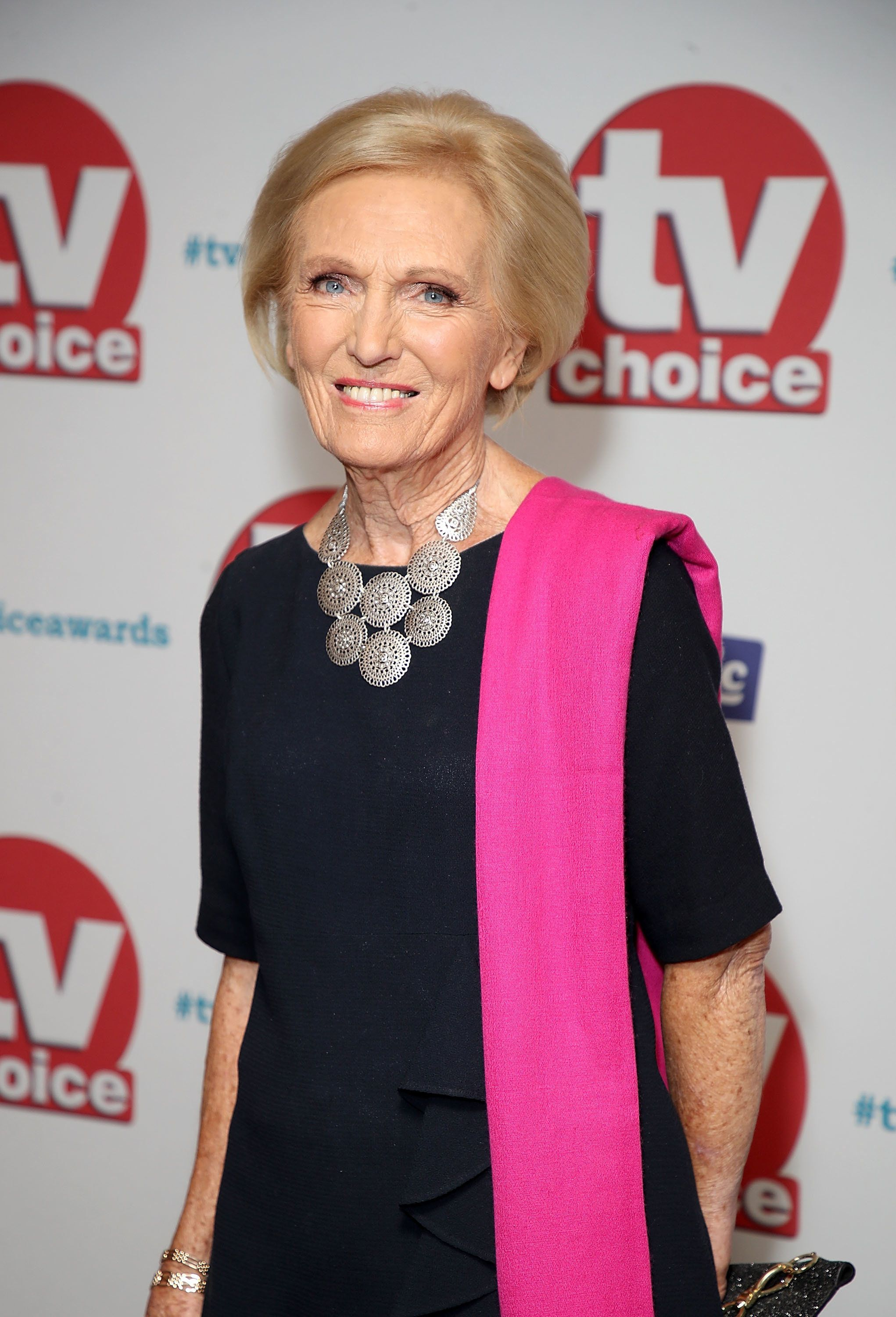 Mary Berry at the TV Choice