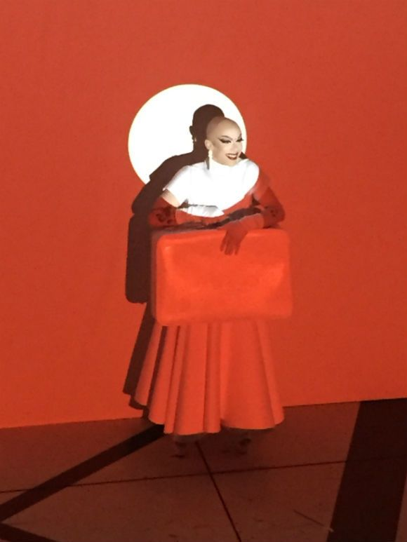 "Sasha Velour's lip-sync to Edith Piaf's ""No Regrets"""
