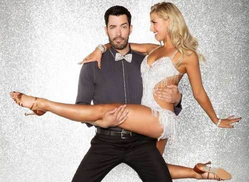 """Drew Scott and Emma Slater, his professional dancing partner for the upcoming season of ABC's """"Dancing with the Stars."""""""