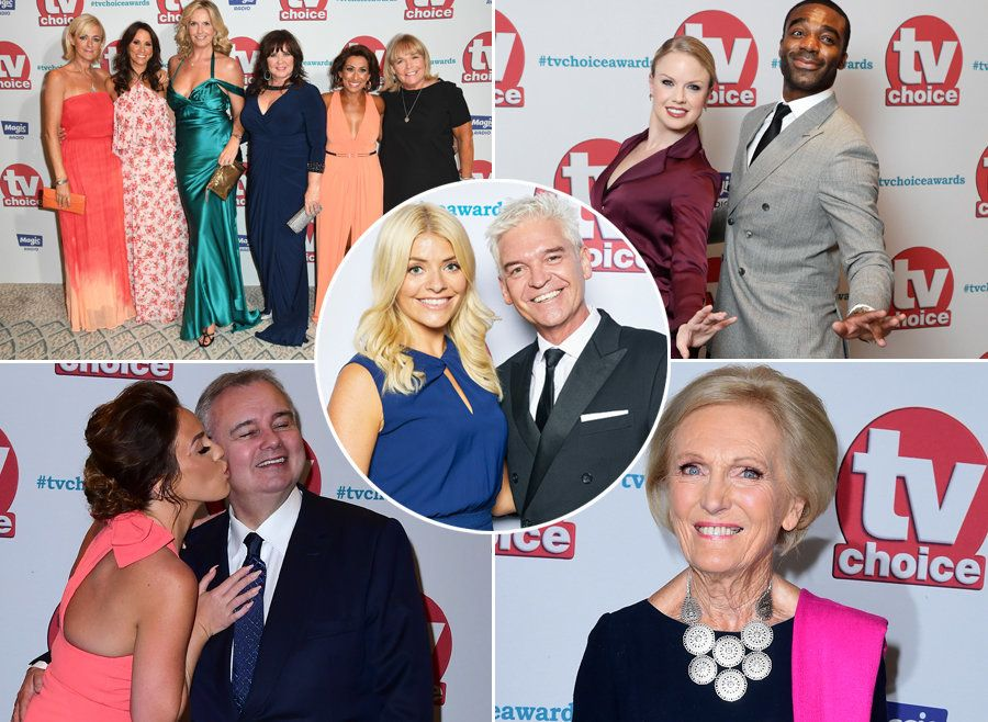 All The Most Glamorous Snaps You Need To See From The TV Choice Awards Red