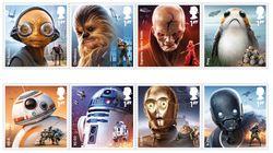New 'Star Wars' Postage Stamps Are 'Bleep Bloop'