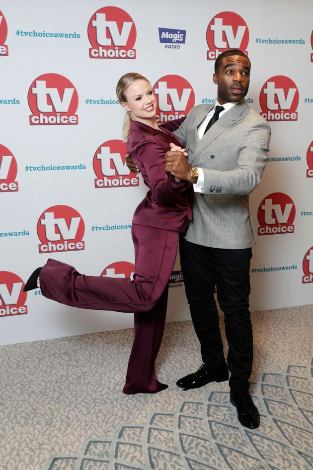 Joanne Clifton and 'Strictly' partner Ore
