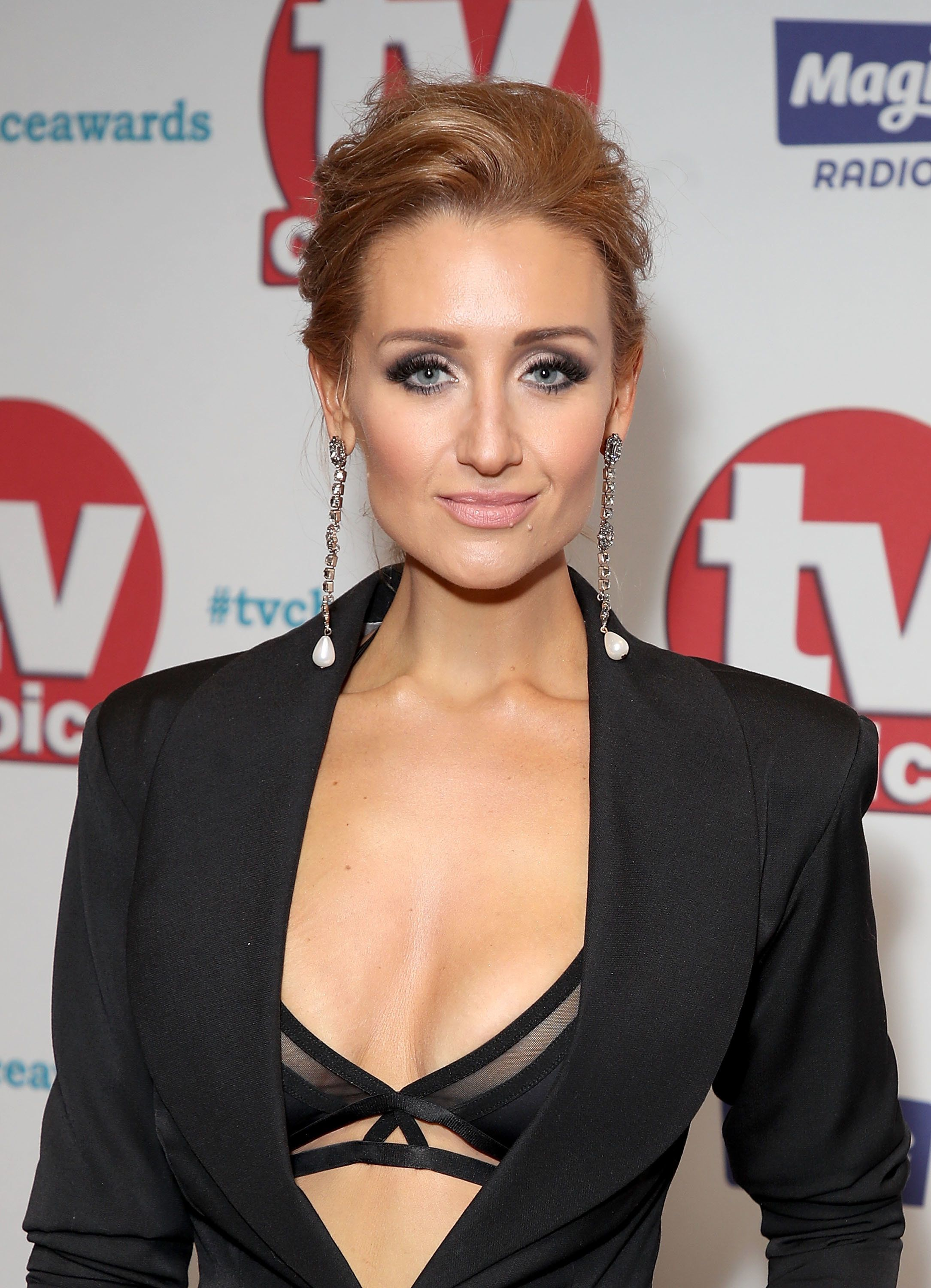 Now You Can Rock Catherine Tyldesley's TV Choice Awards Underwear-As-Outerwear