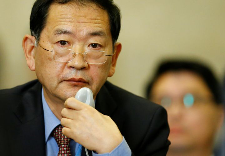 Han Tae Song, ambassador of the Democratic People's Republic of Korea to the U.N. in Geneva, described his countries nu