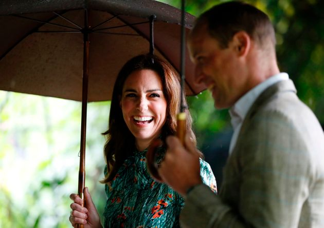 The Duke and Duchess of Cambridge, pictured in London on 30