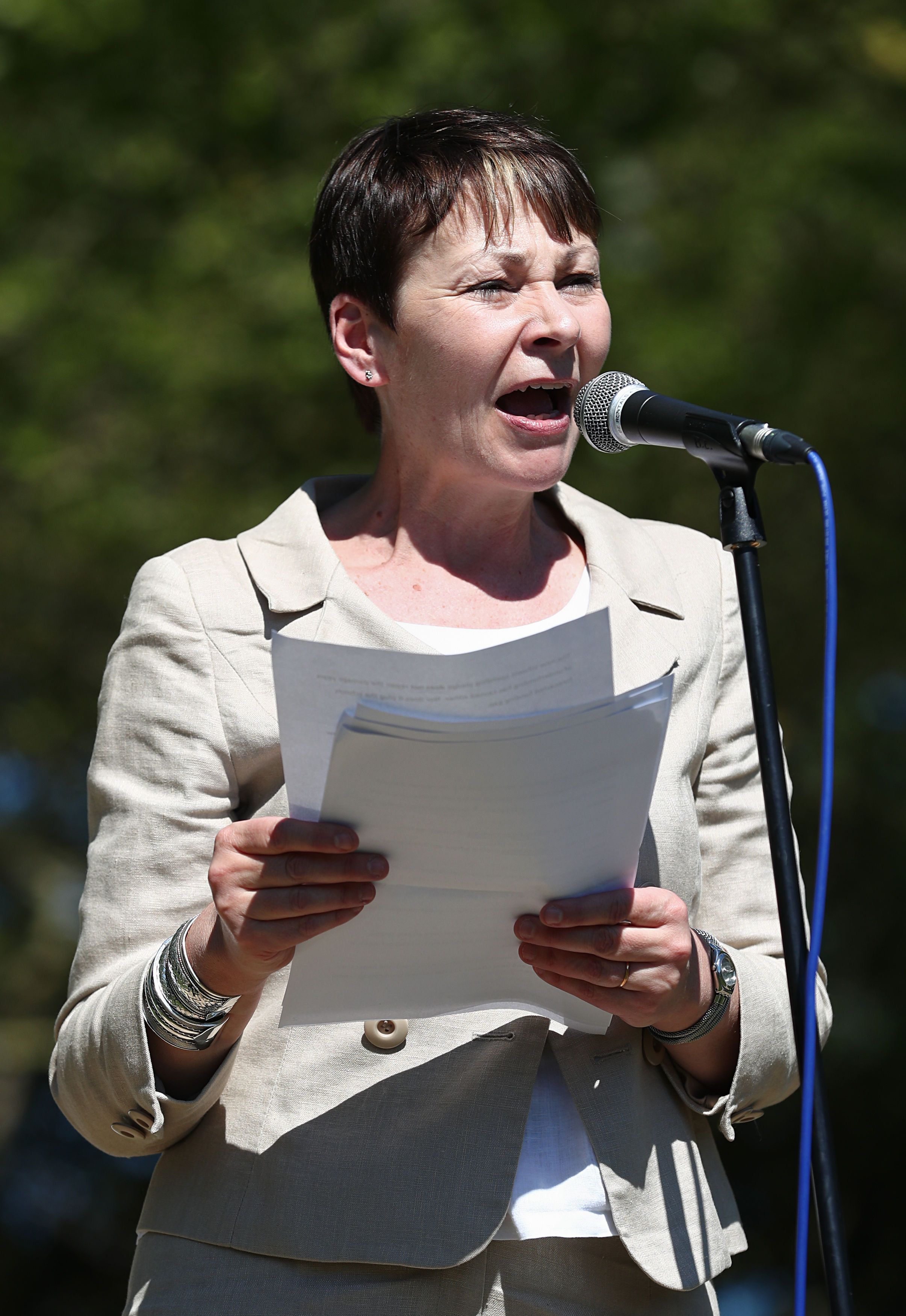 Caroline Lucas: Let MPs Job-Share And Work