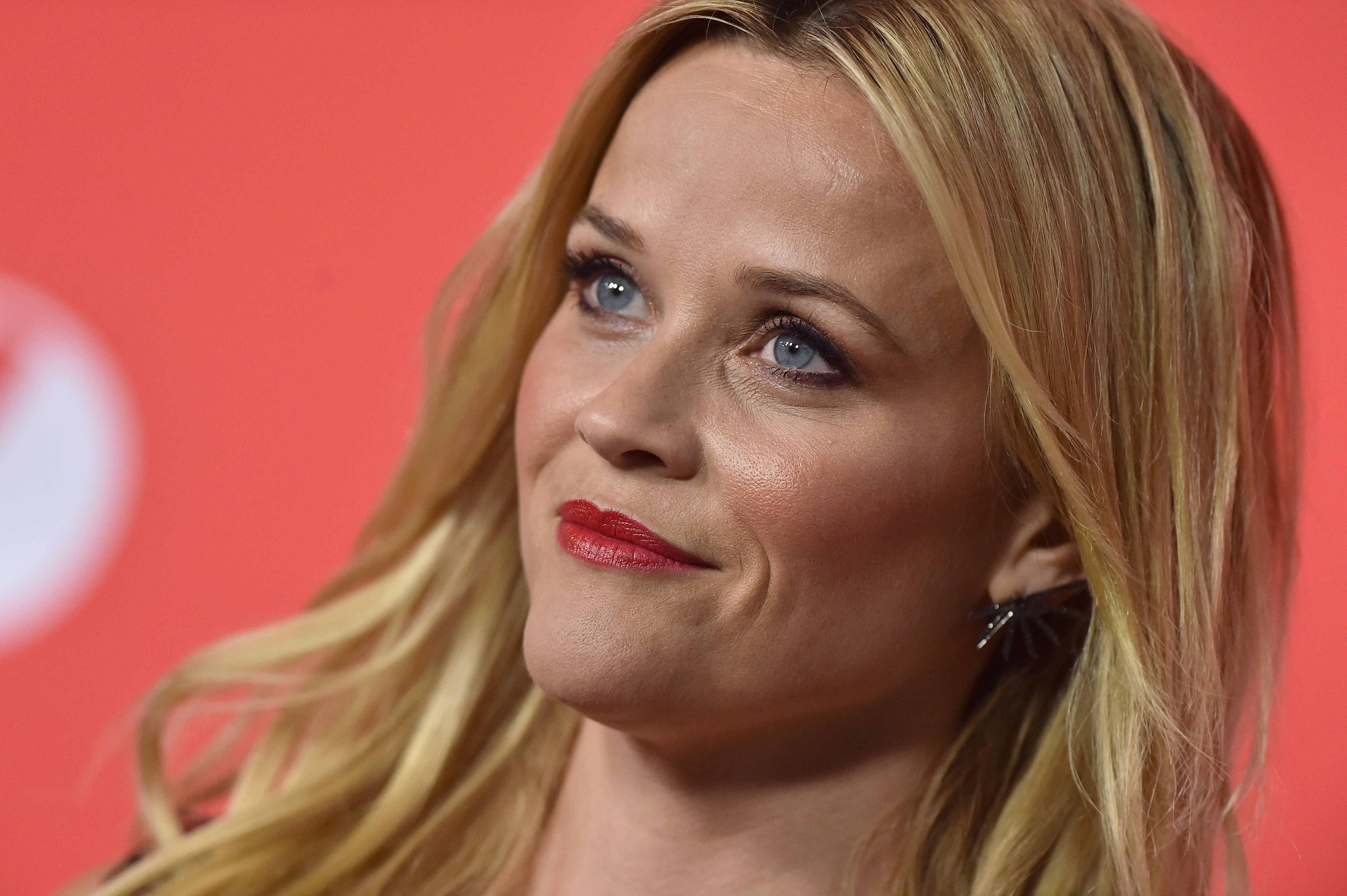 """Reese Witherspoon at the """"Home Again"""" premiere in Los Angeles last week."""