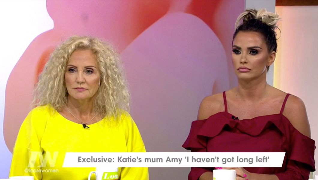 Katie Price's Mum Admits Fears For Star After Her Own Incurable Lung Condition