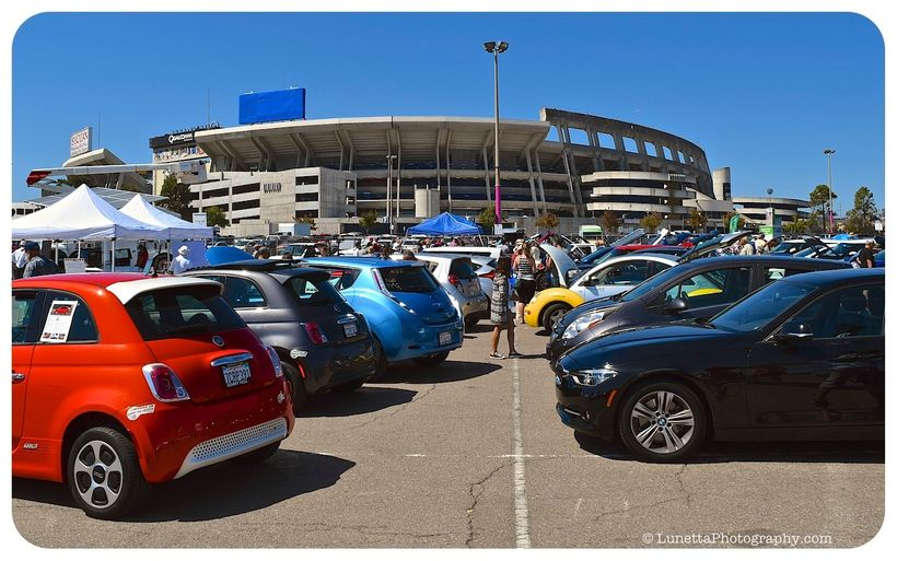 San Diego's National Drive Electric Week event in 2016