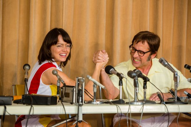 Emma Stone and Steve Carell star in