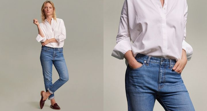 "Everlane's consciously designed denim is&nbsp;good for the environment <a href=""https://www.everlane.com/denim"" target=""_blank"">and your wallet</a>.&nbsp;"