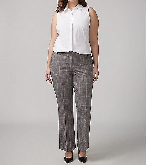 f32aee76ee7a Jennifer Lawrence's Plaid Gray Pants Are Your Next Wardrobe Staple ...