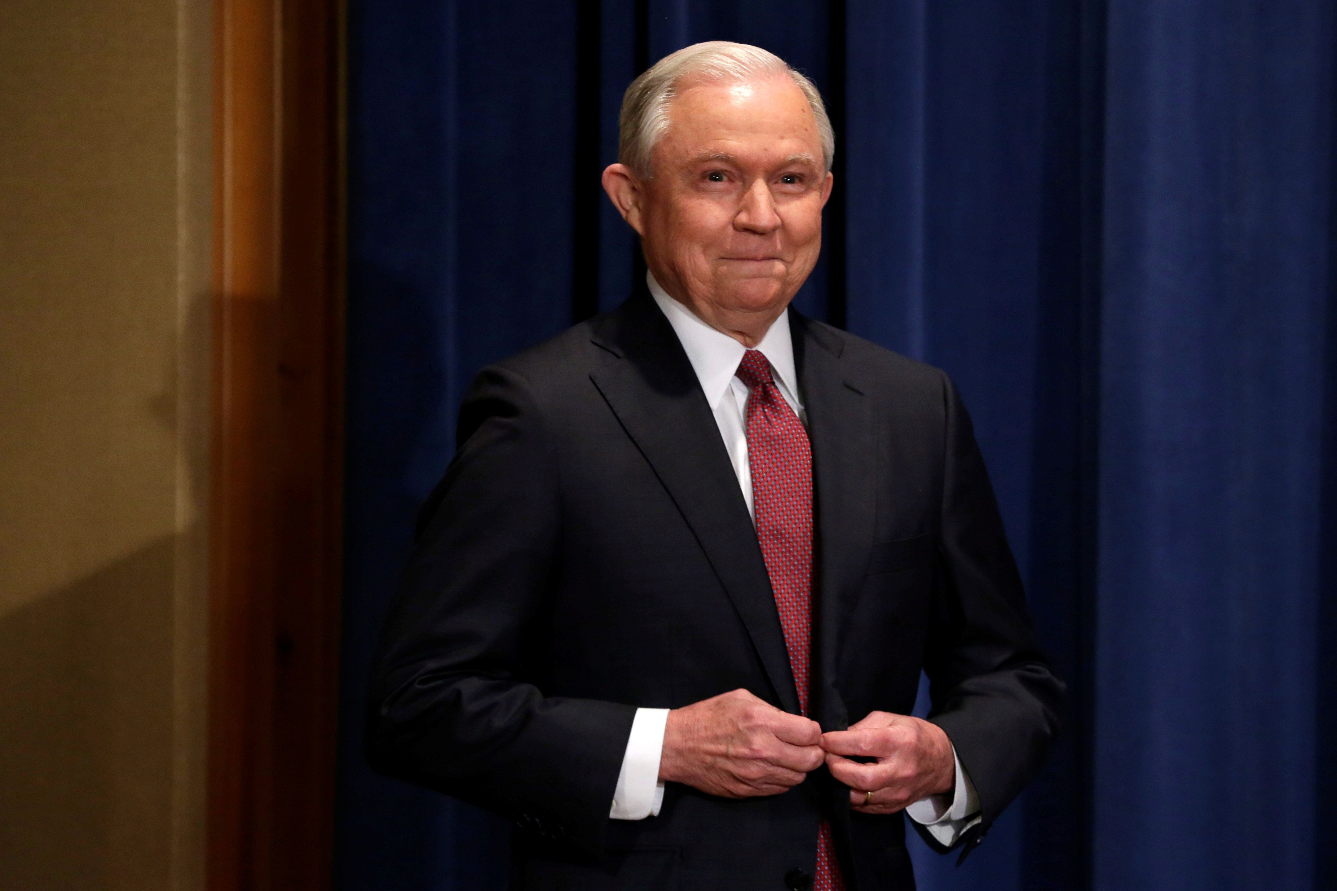 Attorney General Jeff Sessions declaredthe end of DACA at a news conference on Sept. 5.