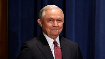 U.S. Attorney General Jeff Sessions arrives to a news conference to address the Deferred Action for Childhood Arrivals (DACA) program at the Justice Department in Washington, U.S., September 5, 2017. REUTERS/Yuri Gripas