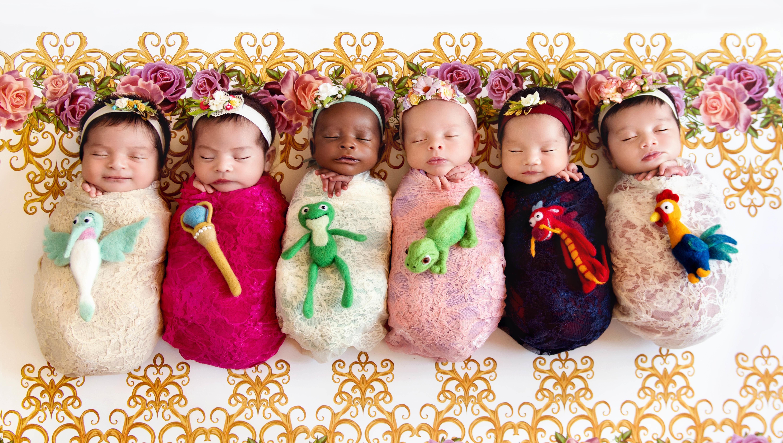 Photographer Karen Marie's new Disney princess photos featuremore royal babies.
