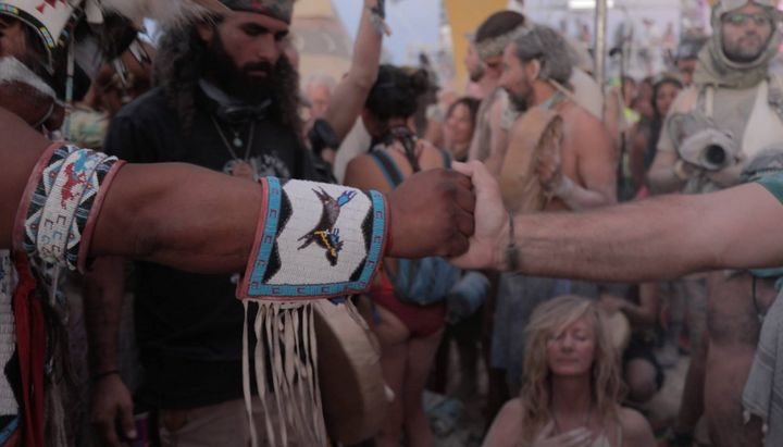 Global Drum Prayer at Burning Man