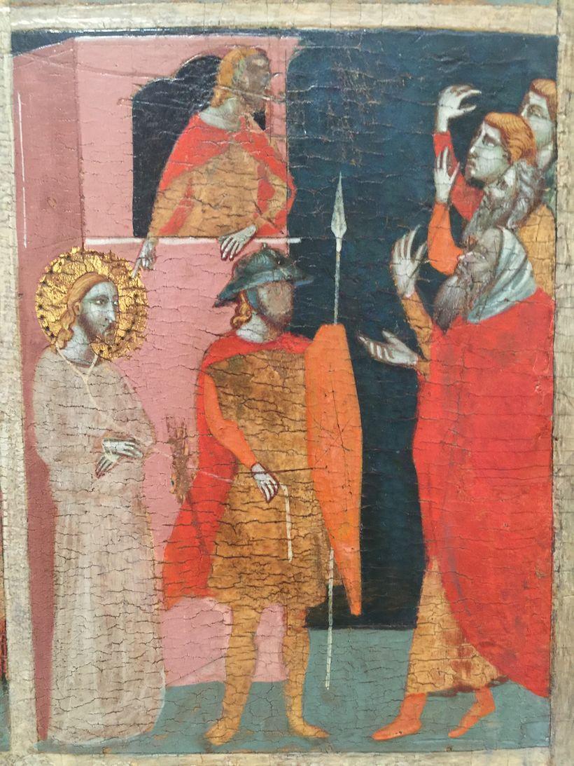 Detail: <em>The Chiarito Tabernacle</em> (~1347). Pacino di Bonaguida. J. Paul Getty Museum, Los Angeles. Image by Edward Gol