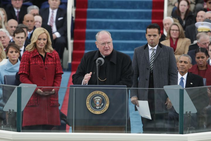 Cardinal Timothy Dolan, who delivered remarks at Trump's inauguration, was among those condemning his DACA announcement.