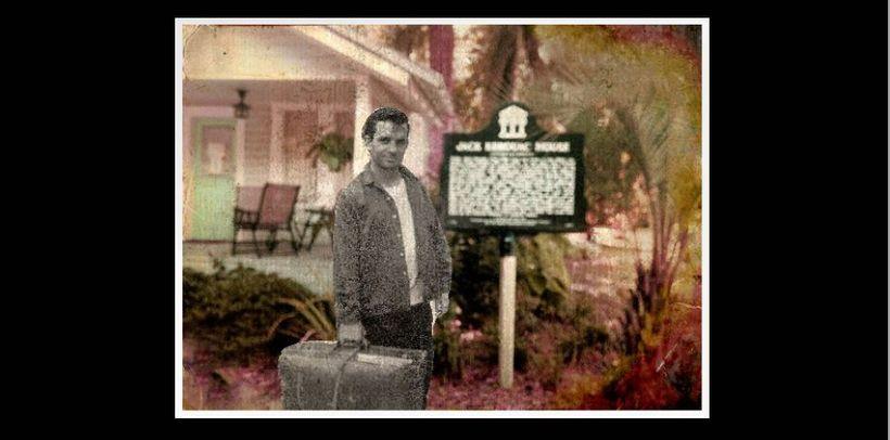 """Flat Jack"" at the Jack Kerouac House in Orlando, Florida."