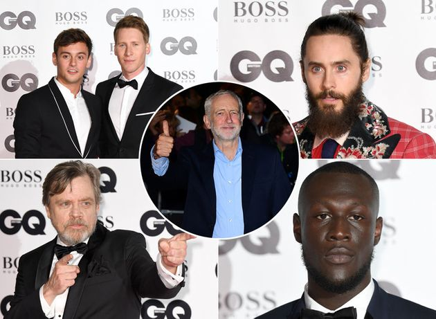 GQ Men Of The Year 2017 Red Carpet: Stormzy, Jeremy Corbyn And Tom Daley Lead Charge At