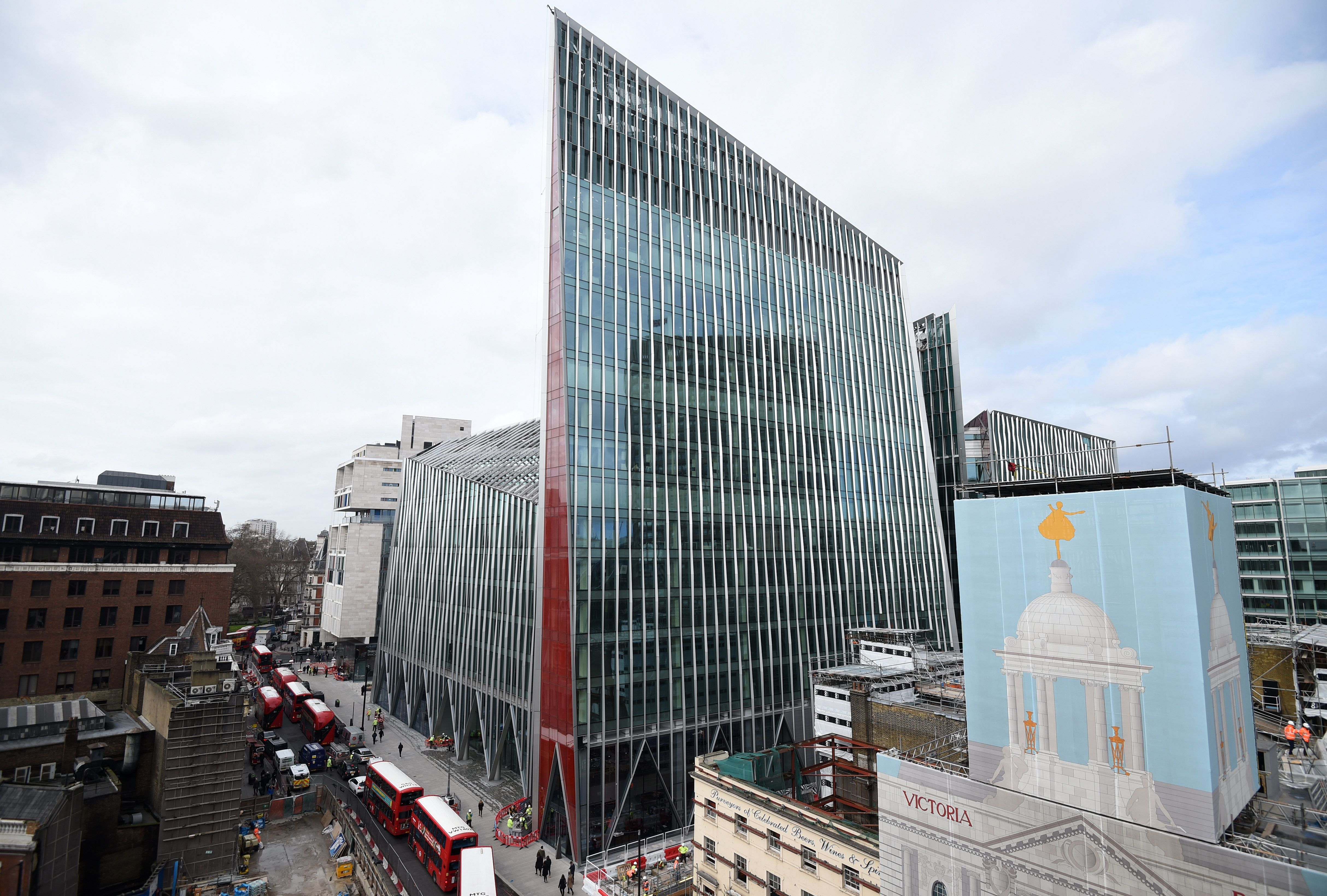 Britain's ugliest building 'assaults your senses as you leave the Tube station'